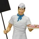 Piekarz - figura reklamowa