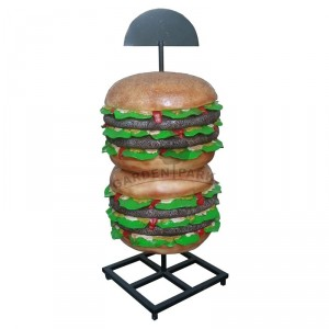 Hamburger duży - figura reklamowa