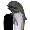 Ryba mała - figura reklamowa