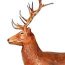 Jeleń - figura reklamowa