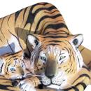 Tygrys z dzieckiem - figura reklamowa