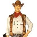 John Wayne - figura reklamowa