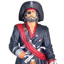 Pirat - figura reklamowa
